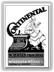1930s Continental ad from Wanderer Werke