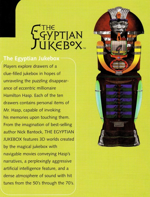 The Egyptian Jukebox Game