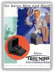 1940s Triumph advertising