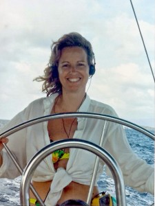 Happy at the Helm