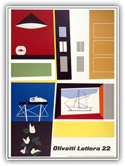 1960s Olivetti poster for the Lettera