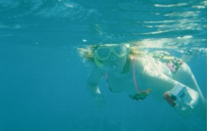 Snorkeling near the Pitons